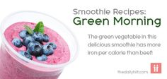 Green Smoothie Recipes: Green Morning