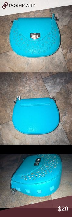 Teal Blue Cross Body Purse NWT Teal Blue Cross Body Purse NWT  approx measurements 9W/7H/3D Charming Charlie Bags Crossbody Bags