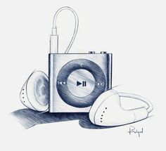 Random Pencil Sketches by Behzad Rashidizadeh, via Behance