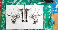 Dibuixos amb cordes, imprimació