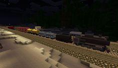 Trains and Zeppelin Mod para Minecraft 1.3.2