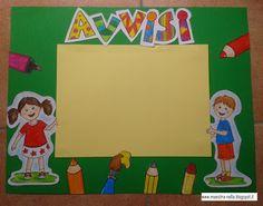 maestra Nella: Il cartellone degli avvisi