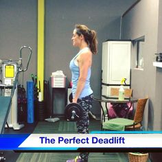 Having trouble with your deadlift? CLICK the image for video and tips.  #fitness #deadlift #health #motivation #hamstrings