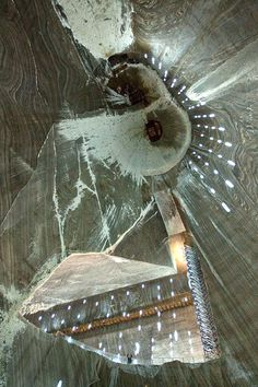 Enter Salina Turda - a salt mine in Transylvania, Romania. It is now a tourist attraction, dating back to the 17th century