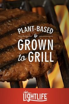 Fire up the BBQ because the new Lightlife Burger is grown to grill. Surprise yourself with a juicy and delicious burger that's made from plants. Find us in the meat aisle. Learn more at www.Lightlife.com #SurpriseYourself