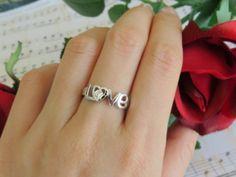 SALE .1 carat Man Made Diamond Love Heart Round by TigerGemstones, $29.99