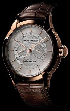 Baume & Mercier #watches www.wardrobetvshow.com