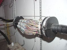Underground splice (this is training. Actual circumstances are not as clean) Telephone Booth, Vintage Telephone, Telephone Exchange, Industrial Electric, Phone Companies, Old Phone, Electrical Wiring, Lineman, Art Pictures
