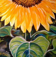 """Sunflower One"" par Marcia Baldwin"