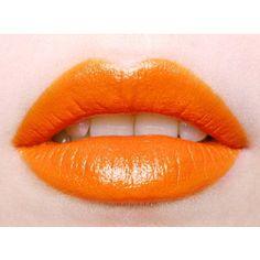 Trend oranje lippen Girlscene