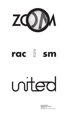 #zoom #racism #united #logo #verbicon