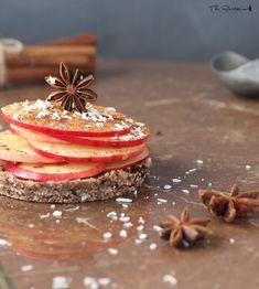 Raw quick cinnamon apple pie recipe