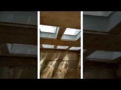 Laje painel com Blocos'' 1'' de Vidros  Pt 5 CANAL Barnabeserras Barnabe '