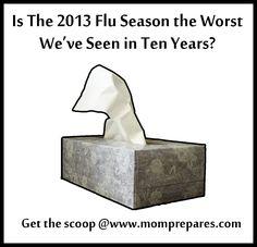 This Year's Flu Season the Worst in Ten Years?