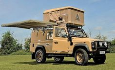 Expedition equipped Land Rover Defender Utility Wagon Tdci