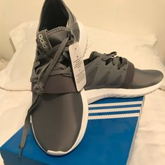 the latest 26077 883a2 Shop Women s adidas Gray size 6 Athletic Shoes at a discounted price at  Poshmark. Description  Brand new with tags! Grey adidas tubular virals in  size Sold ...