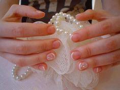 Menyasszonyi francia mini köröm