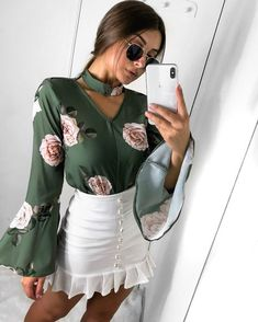 womens tops on sale Spring Fashion, Girl Fashion, Fashion Looks, Fashion Outfits, Womens Fashion, Fashion Design, Fashion Trends, Stylish Outfits, Cute Outfits