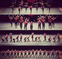 #Rurockers performing at NDA Nationals 2014