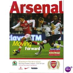 Arsenal v Blackburn Rovers 2011/2012 Premier League Football Programme Listing in the Premiership Fixtures,2004-Now,League Fixtures,English Leagues,Football (Soccer),Sports Programmes,Sport Memorabilia & Cards Category on eBid United Kingdom