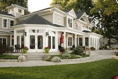 Octagonal Screen Porch - traditional - porch - chicago - Martin Bros. Contracting, Inc.