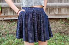 I mean, this is a tutorial for culottes? a skort? A split-skirt. That's probably most accurate.   According to internet sources (aka Wikiped...