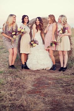 October wedding bridesmaids dresses, Strapless dresses for October ...