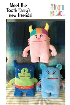 The Tooth Brigade Tooth Pillows are meant to bring a new joy and energy to the Tooth Fairy experience. Make it less of a transaction and more of a memory with The Tooth Brigade Tooth Pillows and Storybook. Tooth Pillow, Tooth Fairy Pillow, Sewing For Kids, Baby Sewing, Toddler Gifts, Baby Gifts, Easy Crafts, Crafts For Kids, Diy Stuffed Animals