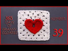 365 Days of Granny Squares Number 39 - YouTube