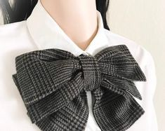 Wooden Tie, Recycled Clothing, Bow Blouse, Submissive, Peter Pan, Ribbons, Preppy, Vintage Fashion, Girly