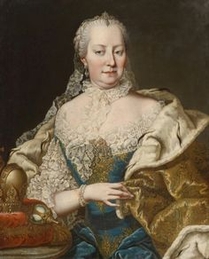 maria theresia | Maria Theresia by Martin van Meytens (location unknown to gogm) From ...