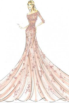 Harrods Disney Princesses. Aurora from Sleeping Beauty by Elie Saab.
