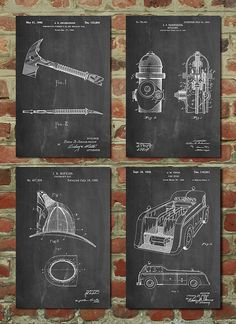 Hey, I found this really awesome Etsy listing at https://www.etsy.com/listing/226110519/firefighter-poster-firefighter-patent