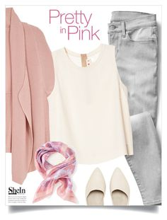 """""""Shein Scarf"""" by tawnee-tnt ❤ liked on Polyvore featuring Gap, Melissa McCarthy Seven7, Marni and plus size clothing"""