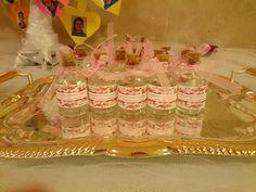 Kutlu Doğum Programı Hediye gül suyu şişeleri