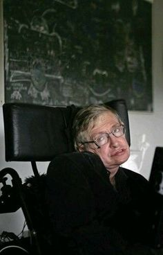 To see him walk again we should rewire our brain!  Then we could see Stephen walking instead of Stephen Hawking. Their is no spoon.  Build it. Monkey down with the sickness. The human condition.