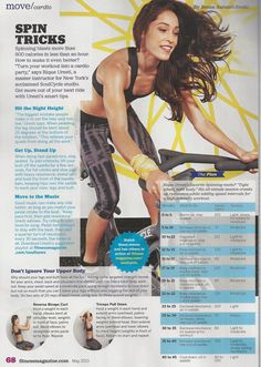 A spin workout from Soul Cycle master trainer Rique Urseti