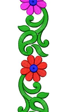 Peacock Embroidery Designs, Embroidery Hoop Crafts, Border Embroidery Designs, Mexican Embroidery, Hand Embroidery Flowers, Machine Embroidery Patterns, Lace Embroidery, Embroidery Stitches, Craft Work For Kids