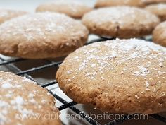 Galletas de canela saludables sin azucar Diabetic Recipes, Low Carb Recipes, Low Calorie Desserts, Cure Diabetes Naturally, No Sugar Foods, Sin Gluten, Cooking Time, Sweet Recipes, Bakery