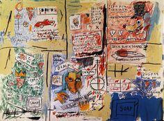 #Basquiat Jean-Michel | Olympic 1983