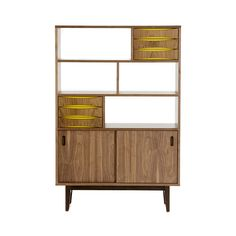 Back in the day, they liked to settle in with TV or magazines for a few hours, too. So tap into old-school style with this storage unit, but add some best-selling novels and a current stereo for a modern effect.