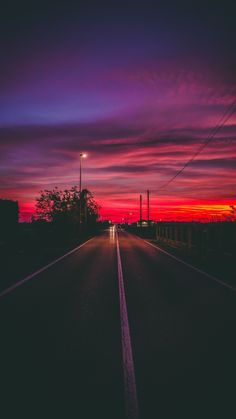 Road to the nowhere wallpaperforyourphone Beautiful wallpaper for your phone road sunset horizon marking wallpaper 765189792922081710 Sunset Painting Easy, Watercolor Sunset, Sunset Art, Sunset Colors, Watercolor Tattoos, Sky Painting, Sunset Wallpaper, Nature Wallpaper, Xperia Wallpaper