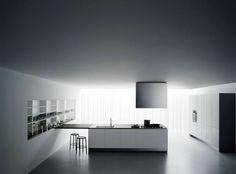 Boffi kitchen Xila ST low white