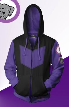 Hawkeye Alternate Hoodie by prathik on DeviantArt