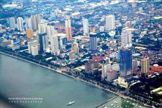 AERIAL SHOTS OF MANILA BY THE BAY