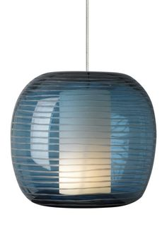 Otto by Tech Lighting - Stunning hand-etched, mouth blown outer transparent glass shade with inner glass diffuser.