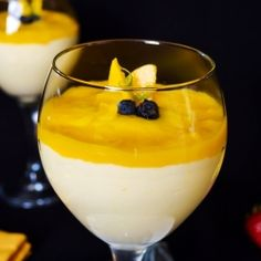 Mango Mousse Recipe recipe