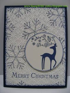 Dasher Christmas by Cynthia<>< - Cards and Paper Crafts at Splitcoaststampers