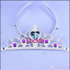 2015 Girls New Frozen Crown Rhinestone Crown Tiara Children's Frozen Accessories Crown Headband Frozen Tiara Girls Hair Accessories from Lockin,$0.53 | DHgate.com