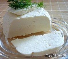 Домашний сыр из магазинного молока, без яиц